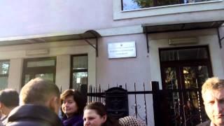 Rînd la consulatul României din Ungheni
