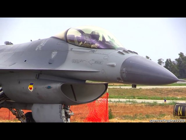 One of the best F-16 viber Fighter plane Demo Ever!!!
