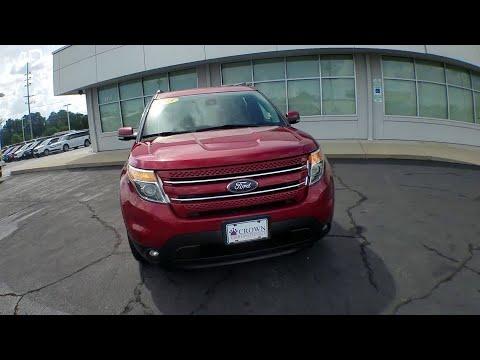2015 Ford Explorer Fayetteville, Lumberton, Goldsboro, Sanford, Southern Pines, NC FGC33640