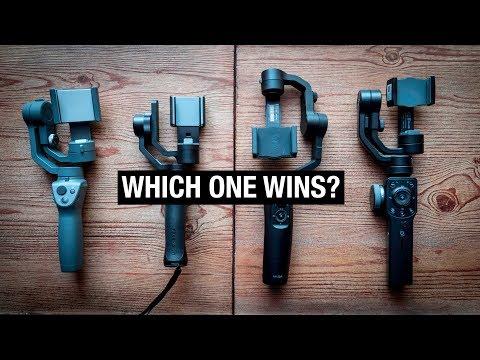 IPHONE GIMBAL SHOOTOUT | Osmo Mobile 2 Vs Zhiyun Smooth 4 Vs Moza Mini Mi Vs FreeVision Vilta M