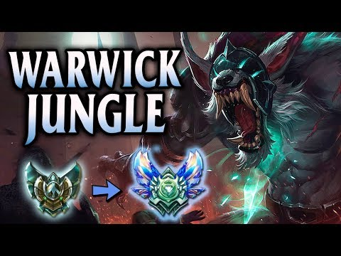 Diamond Ranked Grey Warwick Jungle | Unranked to Diamond #9 - League of Legends S8