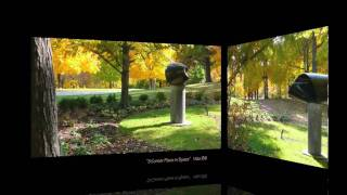 MORAINE SCULPTURE PARK ... Exotic Enchanting Environments ... Living in harmony with nature