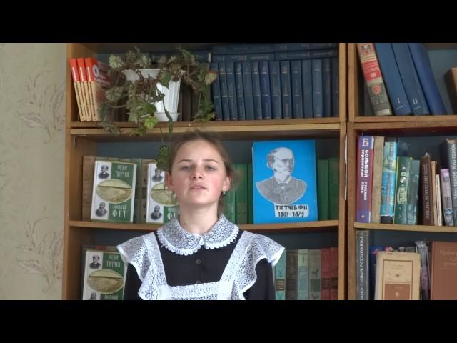 Изображение предпросмотра прочтения – ВикторияКиян читает произведение «Эти бедные селенья....» Ф.И.Тютчева