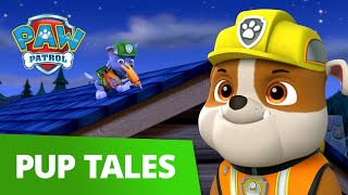 PAW Patrol | Pup Tales #34 | Ultimate Construction Rescue Episode