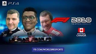 FOR FUN - GP DO CANADÁ - F1 2018 🌎 WorldBR E-Sports 🌐