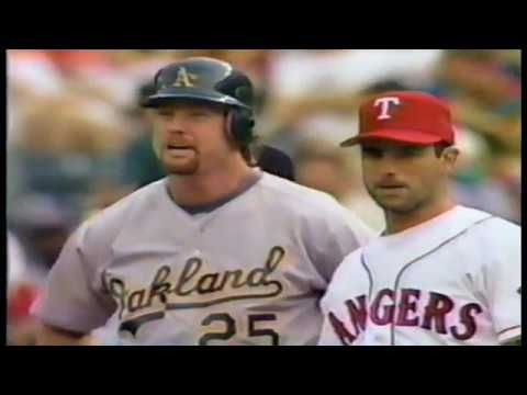 Oakland Athletics at Texas Rangers 1994 06 18