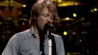 Bon Jovi - The Radio Saved My Life Tonight (Atlantic City 2004) HD