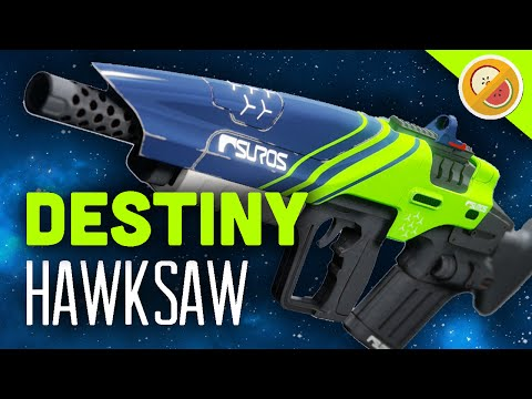 DESTINY Hawksaw Fully Upgraded Legendary Pulse Rifle Review (The Taken King)