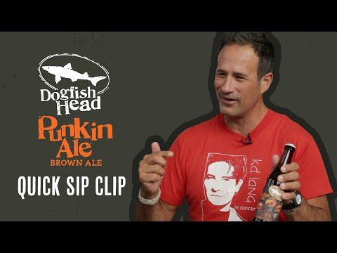 Dogfish Head Quick Sip Clip: Punkin Ale