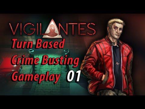 Vigilantes: Turn Based Crime Busting Gameplay 01