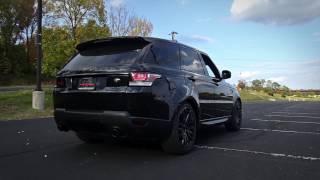 Range Rover Sport SVR. Start-up, exhaust sound, revs, accleleration 0-200
