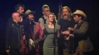 Broken Circle Breakdown Bluegrass band - Over in the glory land live@AB 21-12-2014