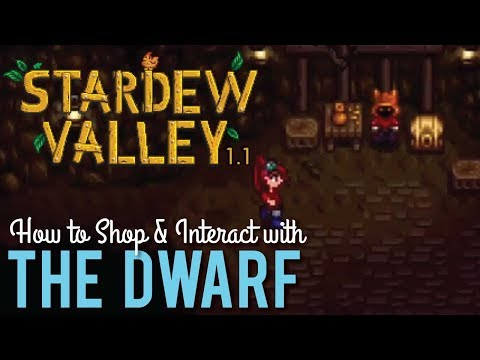 What To Do With The Scrolls & How To Shop With The Dwarf In Stardew Valley