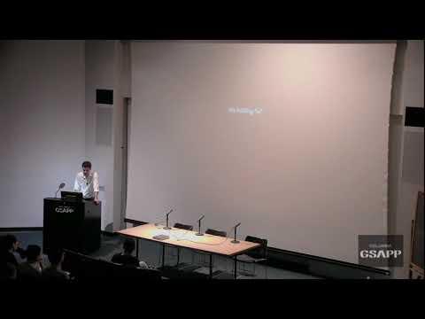 Lecture by J. Aragüez on The Building @Columbia GSAPP. Response by A. Wood & M. Shvartzberg-Carrió