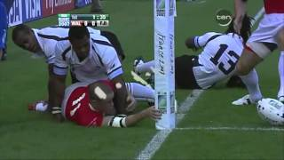 Rugby Union 2007, Wales vs Fiji at Nantes part 1.