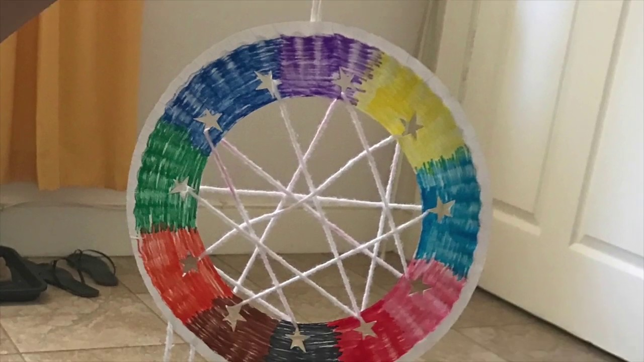Dream Catchers For Children Kids Dream Catcher Craft YouTube 32