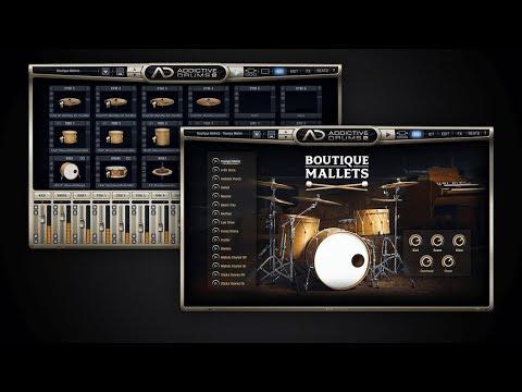 Addictive Drums 2: Boutique Mallets ADpak