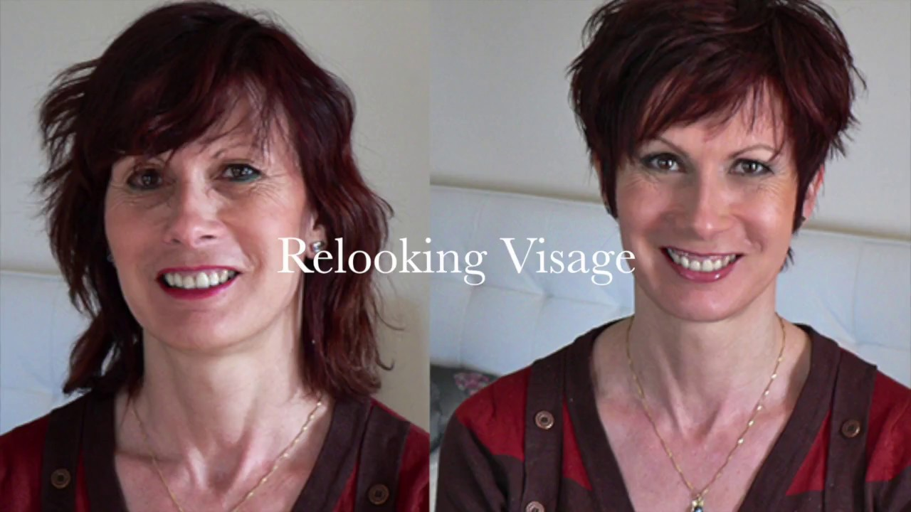 Relooking visage avant apr s youtube for Relooking salon avant apres