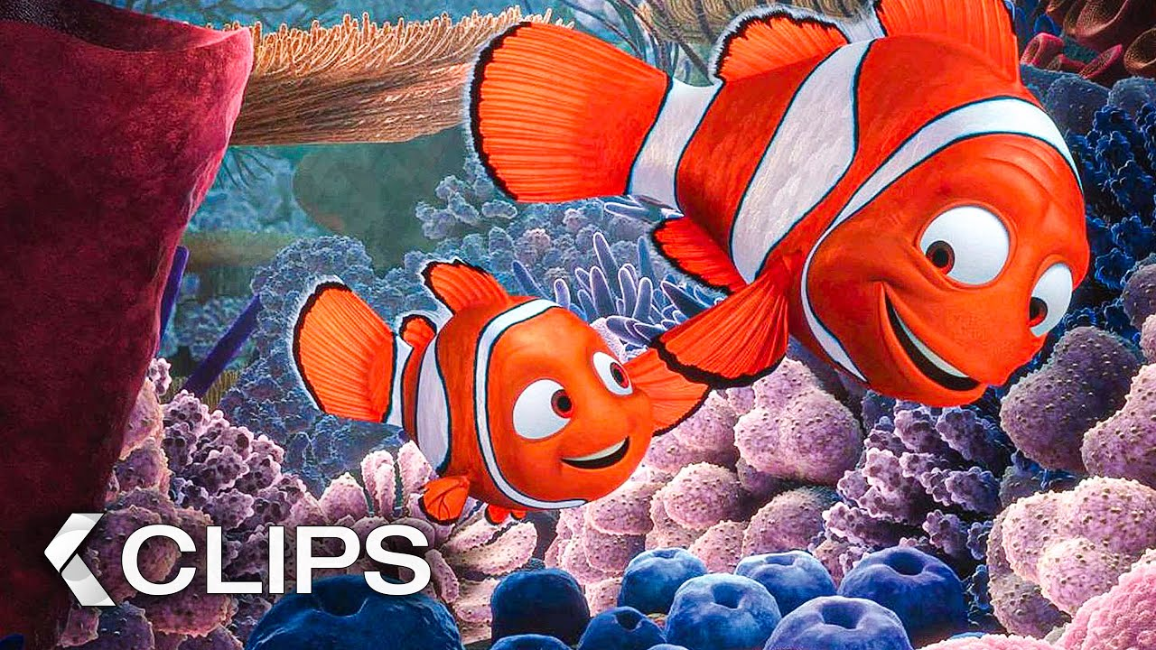 Download FINDING NEMO All Clips & Trailer (2003)