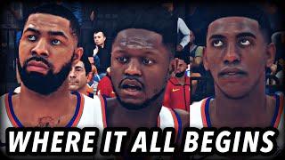 Knicks MyLeague Episode 1 | The Beginning | NBA 2k20