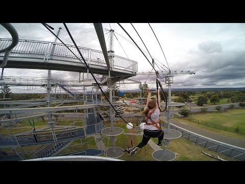 Adelaide Mega Aerial Adventure Park.