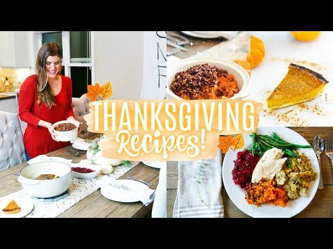 Healthy Thanksgiving Recipes!