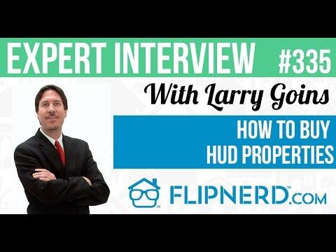 How to Buy HUD Properties - Larry Goins