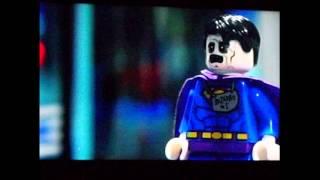Lego Superman and Shazam vs Bizzaro