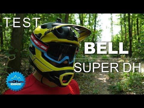 Test Bell Super Dh Casque Intégral Enduro Vtt à Mentonnière