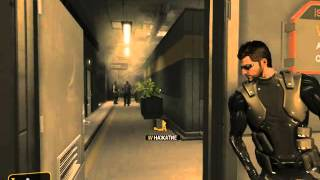 Deus Ex HR мисиия первая - спасение заложников