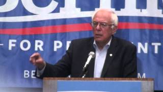 Bernie Sanders on 40 Hour Week Work, American Middle Class