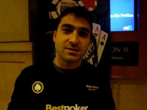 Nelson Dantas - WSOP Dia 4 - Bestpoker.com