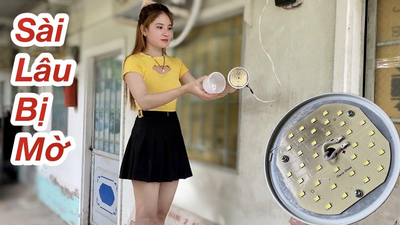Cách Sửa Bóng Đèn Sài Lâu Bị Mờ Siêu Nhanh Phụ Nữ Cũng Làm Được