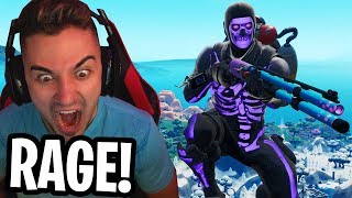 this Fortnite Game mode made me RAGE!! - (I ALMOST BROKE MY DESK)