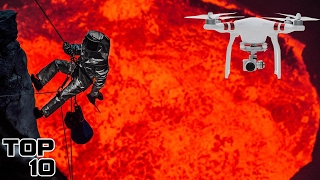 Top 10 Amazing Drone Footage