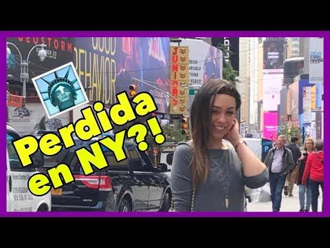 UN EXTRAÑO ME PEGÓ?!😡PERDIDA EN TIMES SQUARE?!🗽VLOG DE NUEVA YORK!