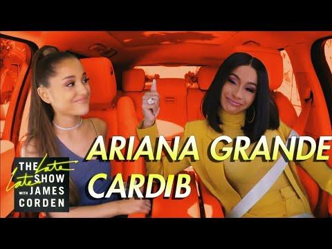 cardi-b-&-ariana-grande-carpool-karaoke