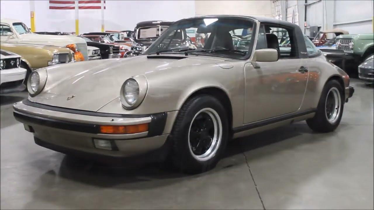 1986 porsche 911 targa youtube 1986 porsche 911 targa vanachro Gallery