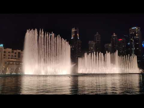 Dubai Fountain Dance on Beautiful Arabic Song