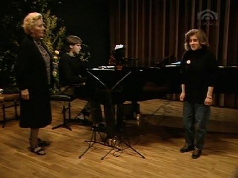 Elisabeth Schwarzkopf: Meisterkurs Stuttgart 1988