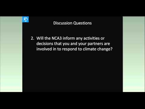ACM Series: Third National Climate Assessment, Climate Change Impacts in the U.S.