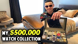 Rich Forex Trader Shows His $500,000 Watch Collection!