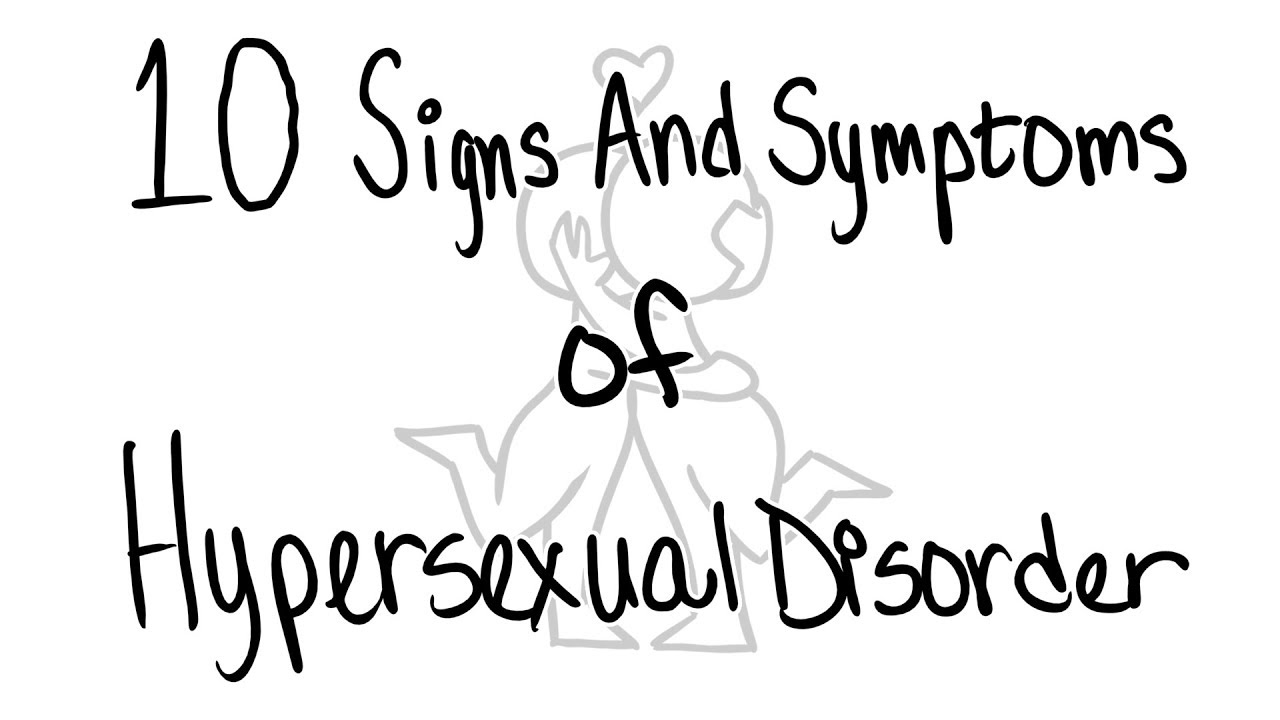 Dsm v hyper sexual disorder