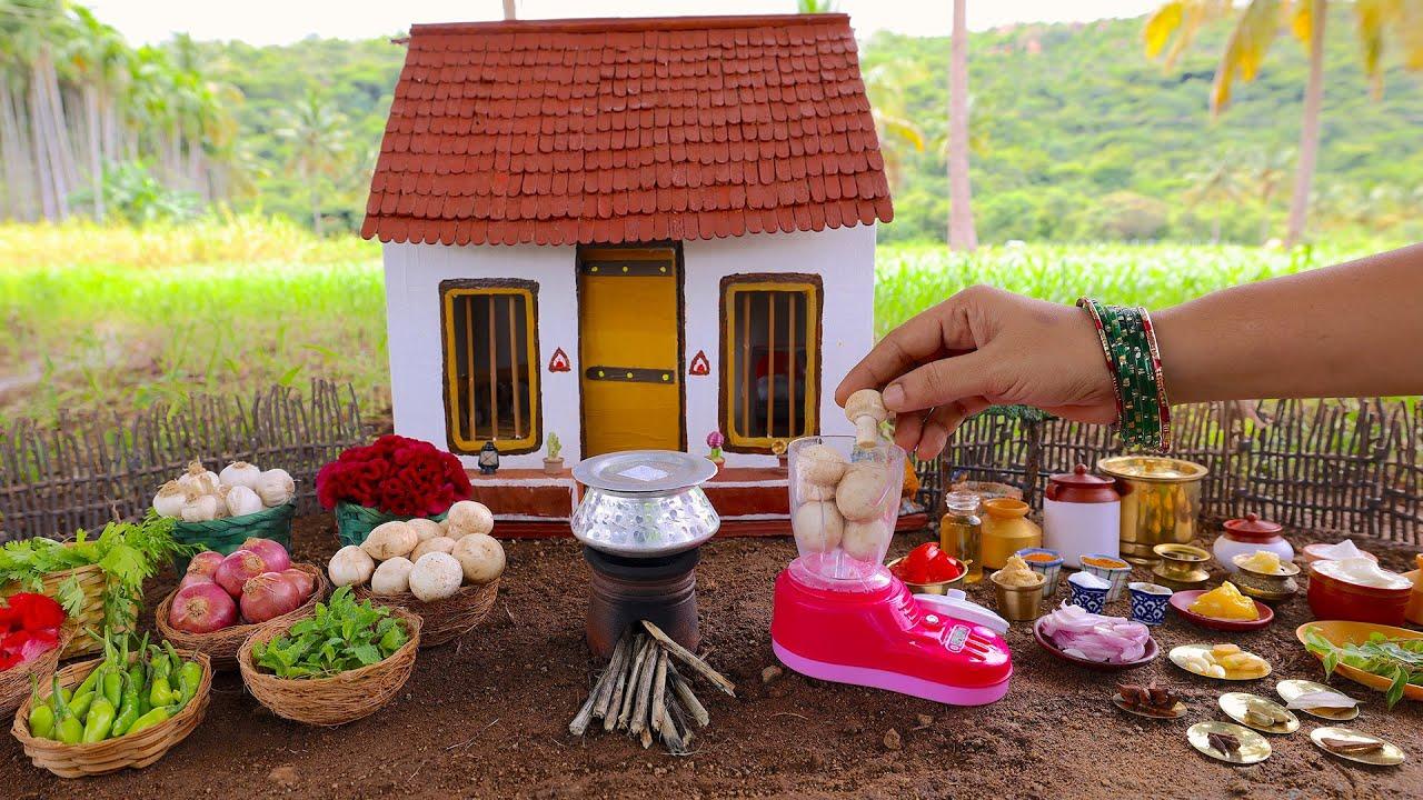 Tiny Mushroom Biryani | How To Make Restaurant Style Mushroom Biryani At Home | The Tiny Foods