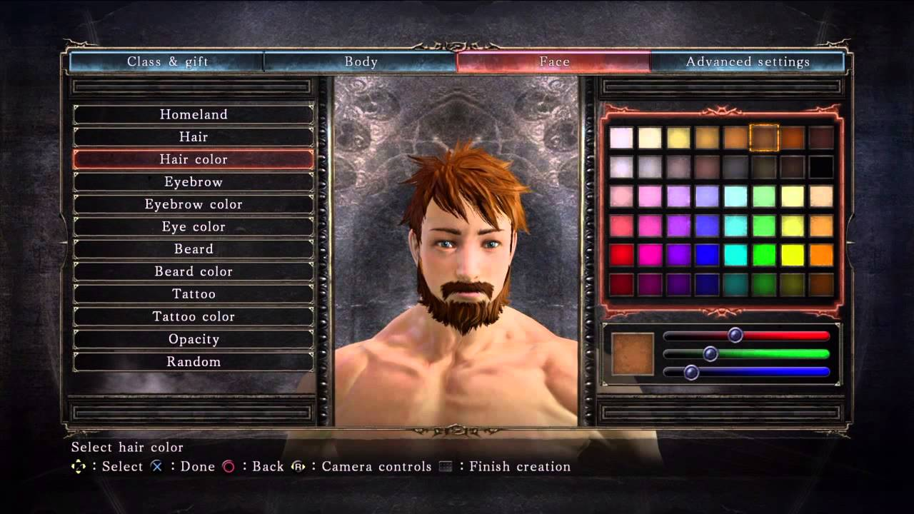 Character creation!! Dark Souls 2 (PS4) - YouTube