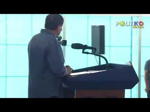 Duterte binara ang Inquirer reporter: Masyado kang apurado!