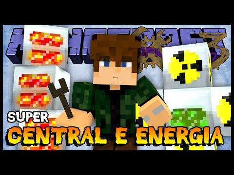 Super Central de Energia (EU) - Nofaxuland 3 #98 (Minecraft + Mods 1.6.4)