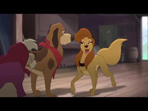 Лис и пёс 2 смешной момент