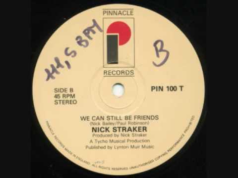 nick straker we can still be friends1984