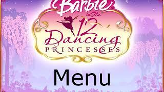 Barbie in the 12 Dancing Princesses (PC) (2006) - Menu
